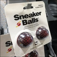 Dual Sneaker-Balls Strip Merchandiser Offerings