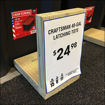 Do-It-Yourself 2x6 Wood Sign Holders
