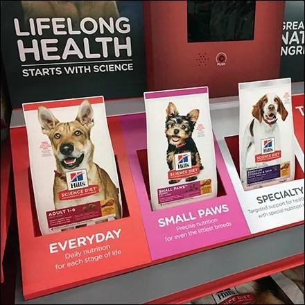 Science-Diet Pet-Food Silhouette Flash Cards