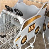 Home-Depot Branded Kids Shopping Cart