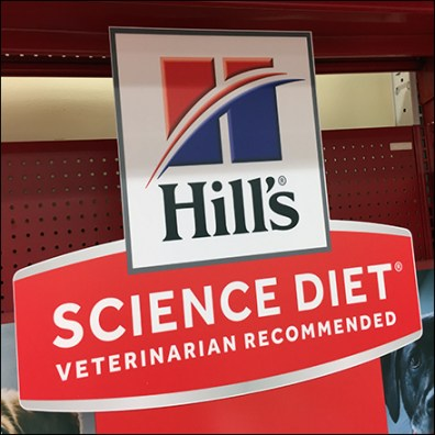 Science-Diet Pet-Food Silhouette Flash Cards