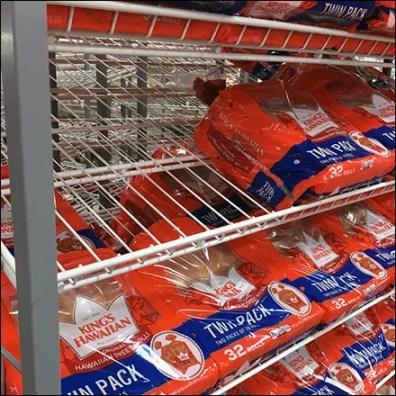 King's Hawaiian Gravity-Feed Bread Rack