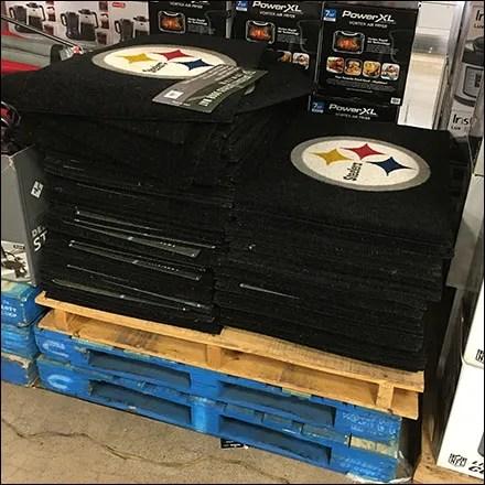Steelers-Licensed Welcome Mat Merchandising