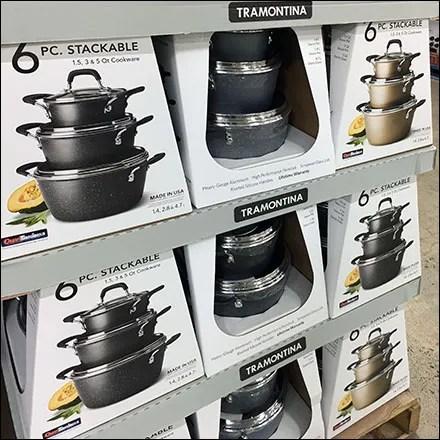 Tramontina Stackable Cookware Display