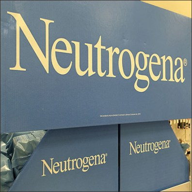 Neutrogena Metal Tower Merchandising Display