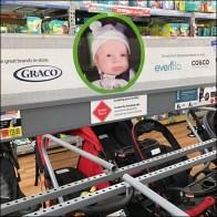 Baby Stroller Merchandising Lineup