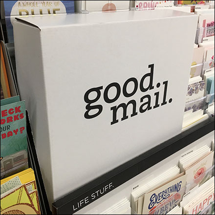 Good Mail Greeting Card Inline Dimensional