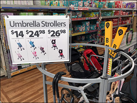 Umbrella Stroller Roundabout Display