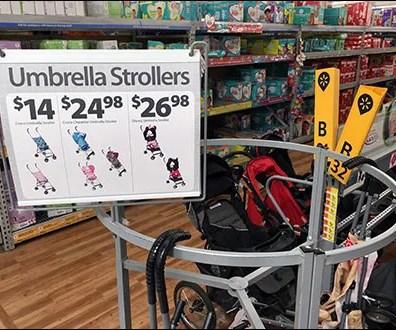 Umbrella Stroller Roundabout Display