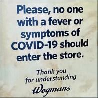 CoronaVirus Do-Not-Enter Notice