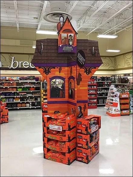 Hershey's Halloween Haunted HouseDisplay