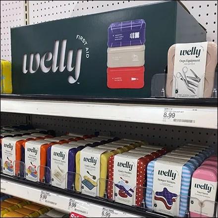 Welly First Aid Dimensional Masthead