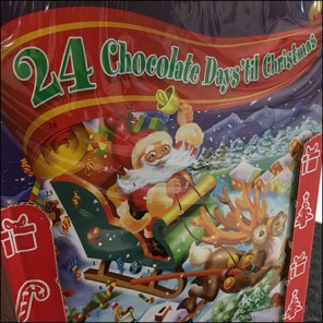Chocolate 24-Day Christmas Advent Calendar