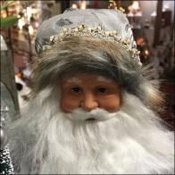 Father Christmas Ornate Shepherd's Crook