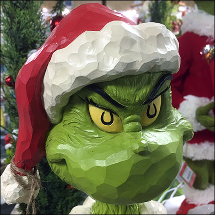 Merry Grinchmas Christmas Display