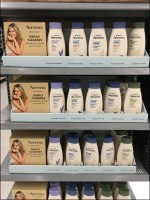 Aveeno Body Wash Endcap Dimensional