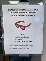 CoronaVirus Do-Not-Replace Eyeglass Frames