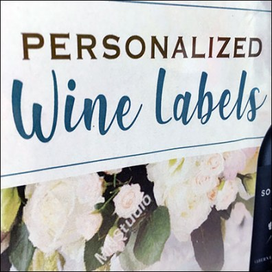 Personalized Wine Label Offering