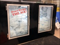 Don't-Forget-The-Ice Cooler Window Cling