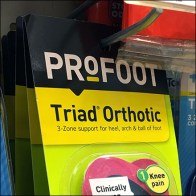 Dr Scholl's Orthotic Scan Hook Merchandising