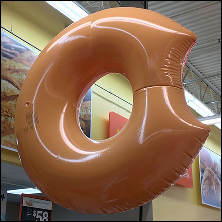 Take-A-Bite Fresh Donuts Daily Inflatable