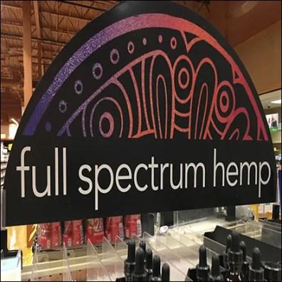 Full-Spectrum Hemp CBD Endcap