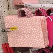Gift-Bag Inline Bar Merchandising