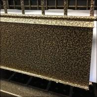 Goldvein Textured Fencing Display