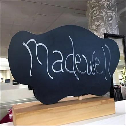 Major Madewell Bra-and-Panty Display