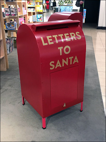 Nordstrom Letters To Santa Mailbox