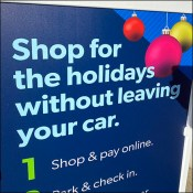 BOPIS Holiday Shopping From Your Car
