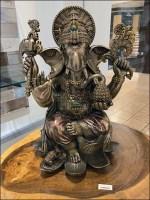 Ganesha In-Store Shrine Staging