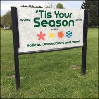 Tis-Your-Season Oversize Christmas Ornaments