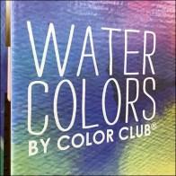 Colorful Water-Color Nail Polish Endcap