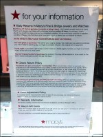 Macy's Watch-and-Jewelry Return Policy
