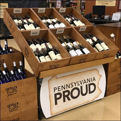 Relaxed Pennsylvania Wine Selection