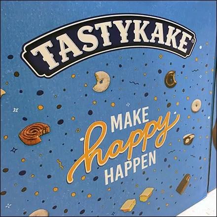 TastyKake Make-Happy-Happen Island Display