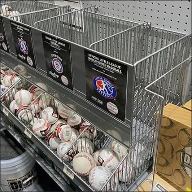 Baseball Bulk-Bin Category Management