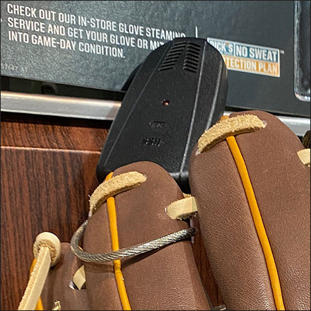 Baseball Glove Wall-Mount Anti-theft Alarm