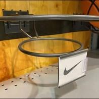 Basketball Ring-Hook C-Channel Branding