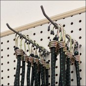 Bungee-Cord Twin-Hook Display Outfitting