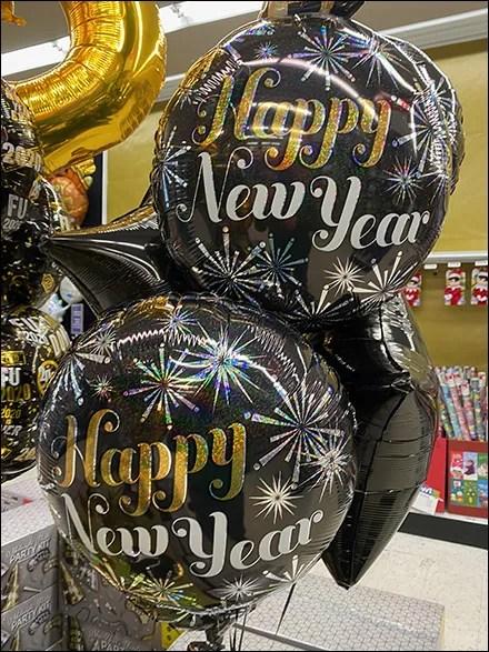 Happy-New-Year Wish Balloons