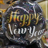 Happy-New-Year Wish Balloons