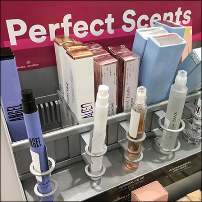 Perfect-Scents Tester Array Endcap
