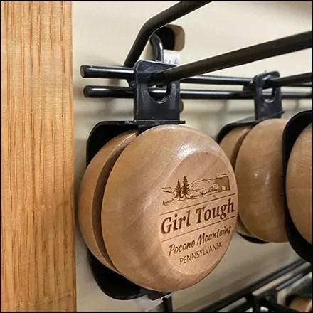 Wood Yo-Yo Scan Hook Hanger