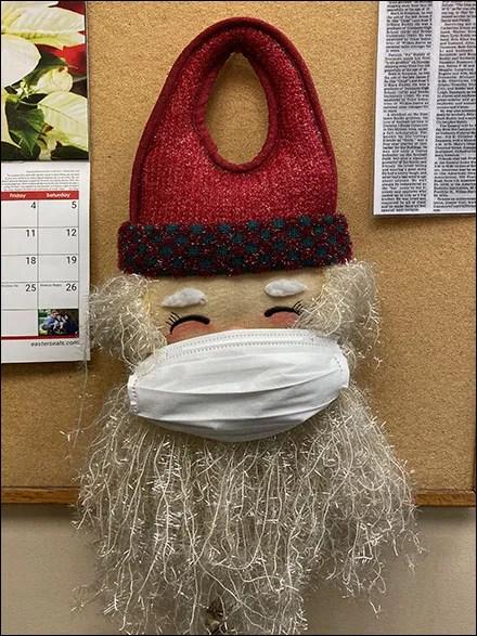 Santa's Christmas Face Mask StrategySanta's Christmas Face Mask Strategy