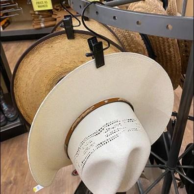 Justin Cowboy Hat Clothes-Clip S-Hooks