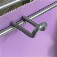 Unicorn-Club Silver Powdercoat Loop-Hooks