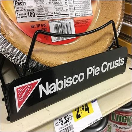 Nabisco-Branded Pie Crust Carrier Rack