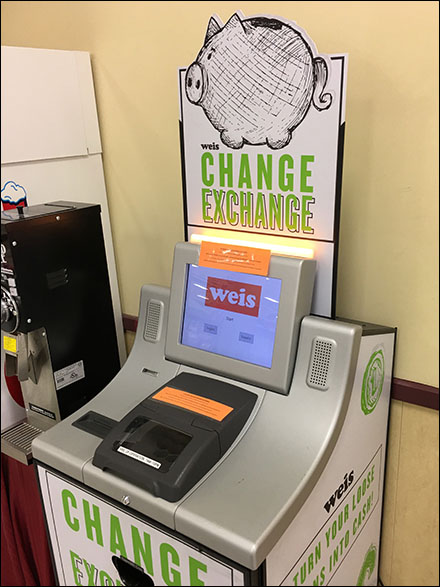 Piggy-Bank Coin Exchange Kiosk